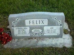 Utahna May <I>Metcalf</I> Felix