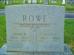 John Melancton Rowe