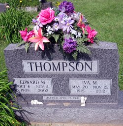 Iva M. <I>Magnuson</I> Thompson
