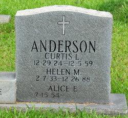 Helen Irene <I>Messer</I> Anderson