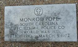 Monroe Pope