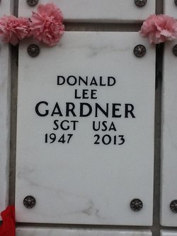 """Sgt Donald Lee """"DL"""" Gardner"""