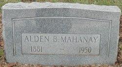 Alden Burris Mahanay