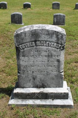 Esther W <I>Cleverly</I> Bruce