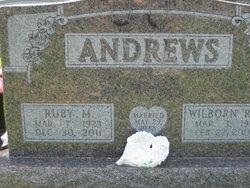 Ruby Mae <I>Whitlock</I> Andrews