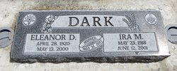 Eleanor Doris <I>Maier</I> Dark