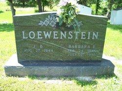 Barbara E Loewenstein