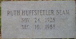 Margaret Ruth <I>Huffstetler</I> Beam
