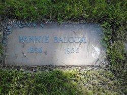 Fannie <I>Mapes</I> Balcom