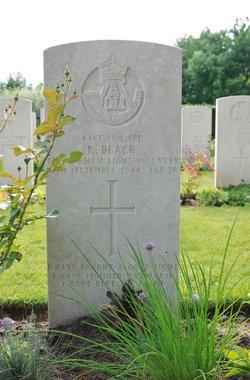 Lance Corporal Ronald Black