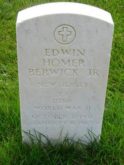 Edwin Homer Berwick, Jr
