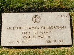 Richard James Culbertson