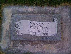 Nancy Carol <I>Finch</I> Hutton