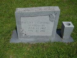 Pauline <I>Sanders Carroll</I> Burroughs