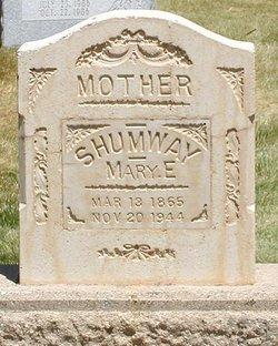Mary Elizabeth <I>Johnson</I> Shumway