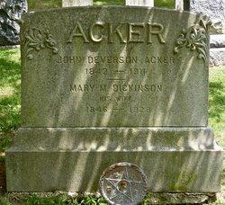 John Deverson Acker