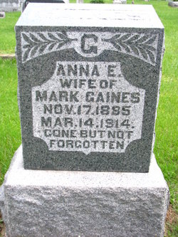 "Anna Eliza ""Annie"" <I>Patton</I> Gaines"