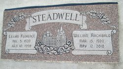 Lillian F <I>Simmons</I> Steadwell