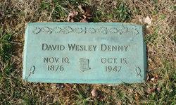 """David Wesley """"Dave"""" Denny"""