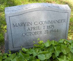 Marvin C Commander