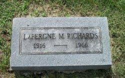 LaFergne Mary <I>Russell</I> Richards