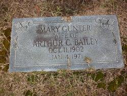Mary Evelyn <I>Gunter</I> Bailey