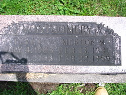 Elva Irene <I>Thompson</I> Montgomery