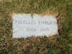 Phyllis <I>Rutfield</I> Ehrlich