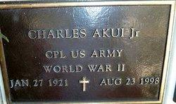 Charles Akui, Jr