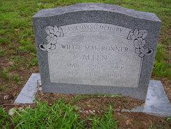 Willie Mae <I>Bonner</I> Allen