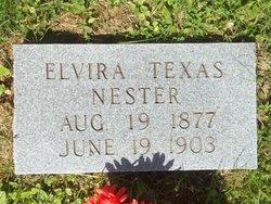 Elvira Texas <I>Nester</I> Nester