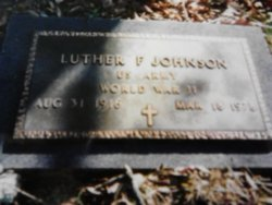 Luther F Johnson