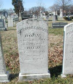 Catharine <I>Carter</I> Gibson