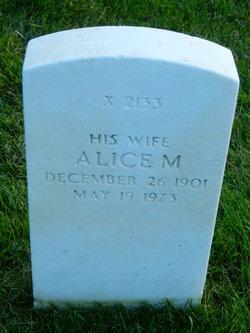 Alice M Faunce