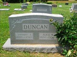 Alice L <I>Watkins</I> Duncan