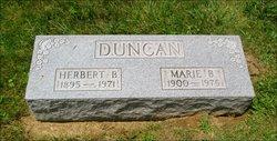 Marie B <I>Elston</I> Duncan