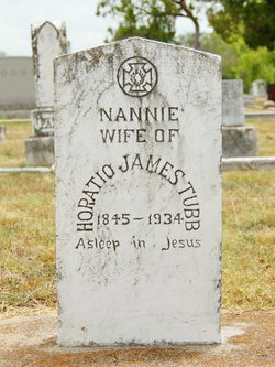 "Nancy Amanda ""Nannie"" <I>Tubb</I> Tubb"