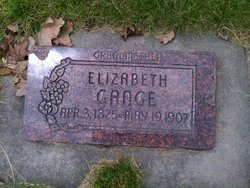 Elizabeth <I>Berry</I> Gange
