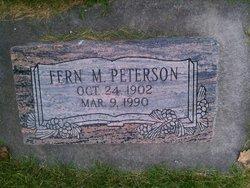 Fern <I>McPherson</I> Peterson