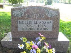 Mollie Mae <I>Burk</I> Adams