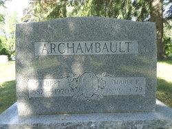 Mabel R. <I>Halverson</I> Archambault