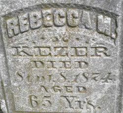 Rebecca Mount <I>Ely</I> Kezer