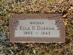 Ella Frances <I>Wolfe</I> Durham