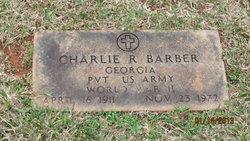 Charlie R Barber