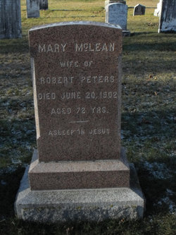 Mary <I>McLean</I> Peters