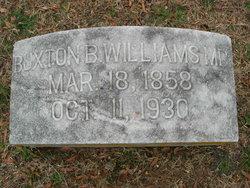 Dr Buxton Boddie Williams