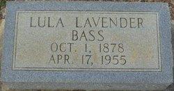"Emma Tallulah ""Lula"" <I>Daniell</I> Bass"