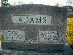Beverly B Adams