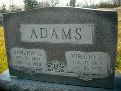 DeWilton A Adams, Sr