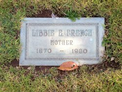"Martha Elizabeth ""Libbie"" <I>Whitaker</I> French"